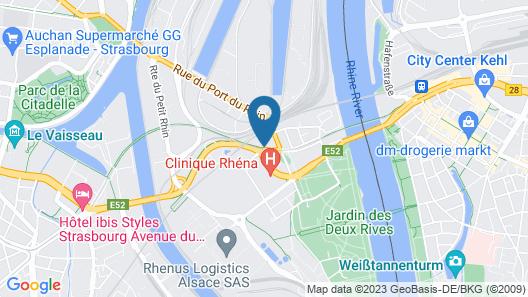 hotelF1 Strasbourg Pont de l'Europe (rénové) Map
