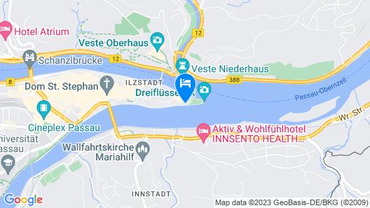 Hotel Schloss Ort  Map