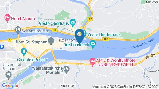 Boutique Hotel Morgentau Map