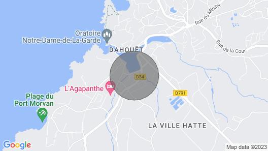 Duplex on the Port de Dahouet Map