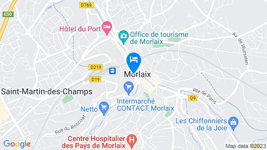 Appart'hotel de la Mairie Map