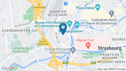 Appart'City Strasbourg Centre Map
