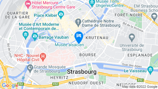 Hotel Beaucour Map
