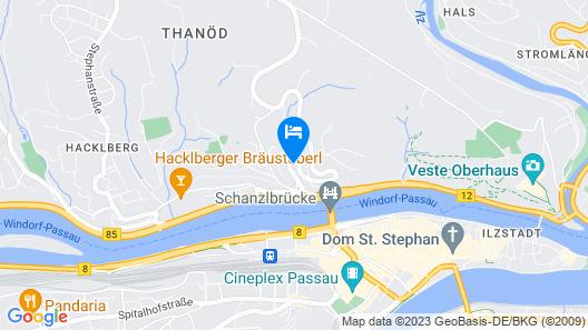 Hotel Atrium Map