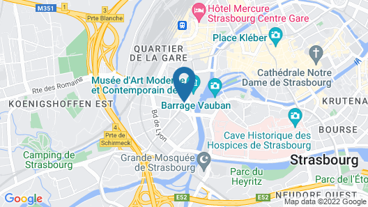 ibis Strasbourg Centre Historique Map