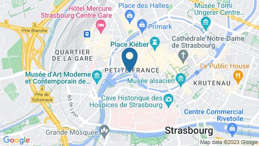 Pavillon REGENT PETITE France Map