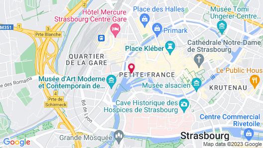 Hôtel Chut Map