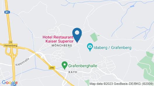 Hotel Restaurant Kaiser Map