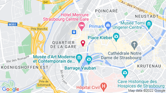 Citotel Pax Map