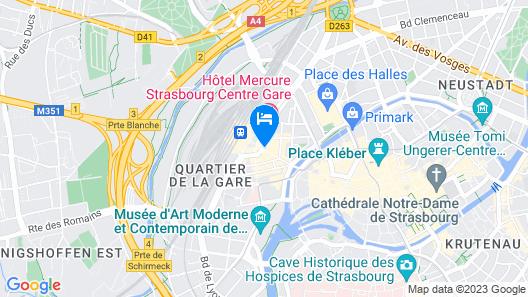 ibis Strasbourg Centre Gare Map