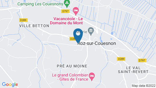 Air-conditioned Apartment Close to Mont Saint Michel Map