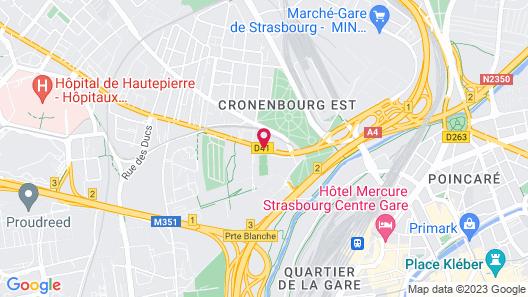 Hotel Origami Map