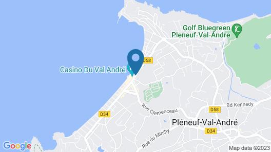 Spa Marin du Val André Thalasso Resort Map