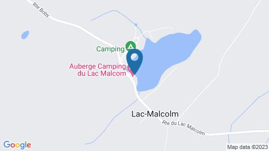 Auberge du Lac Malcom Map