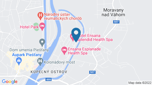 Splendid Ensana Health Spa Hotel Map