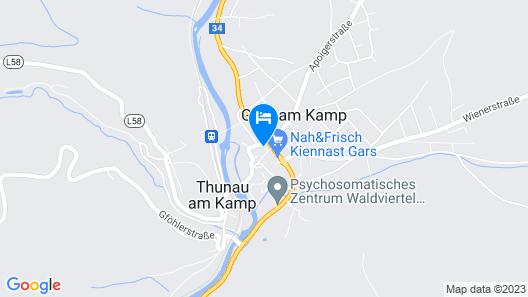 la pura women's health resort kamptal Map