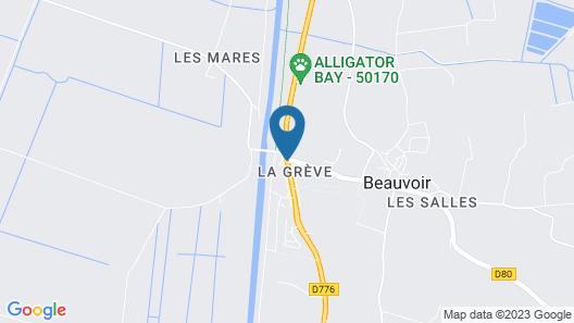 Les Vieilles Digues Map