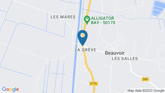 Hôtel Beauvoir Map