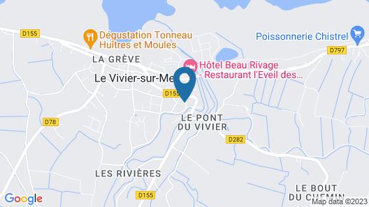 Hotel Le Bretagne Map