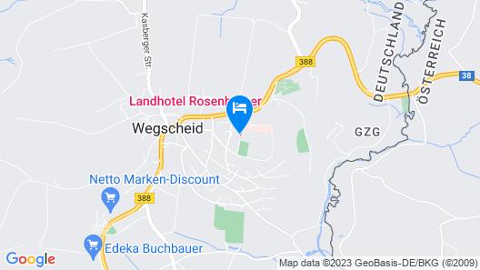 Landhotel Rosenberger - All Inclusive  Map