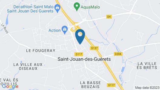 Hotel Campanile Saint Malo - Saint Jouan Des Guérets Map