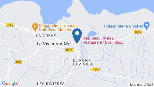 Hôtel Beau Rivage, Restaurant L'Eveil des Sens Map
