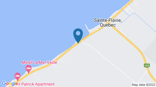 Motel Sainte-Flavie Map