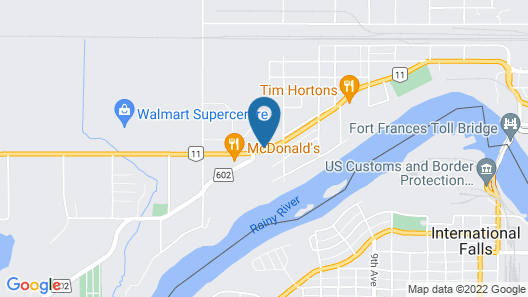 Super 8 by Wyndham Fort Frances Map
