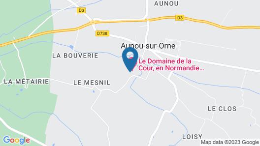 Le Domaine de la Cour Map
