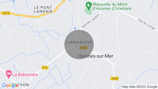Fully Equipped Cottage, Near Mont Saint Michel, With Heated Indoor Pool Map