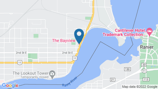 The Bayview Motel Map