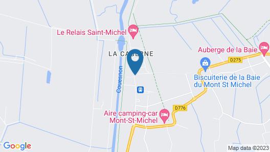Le Saint Aubert Map