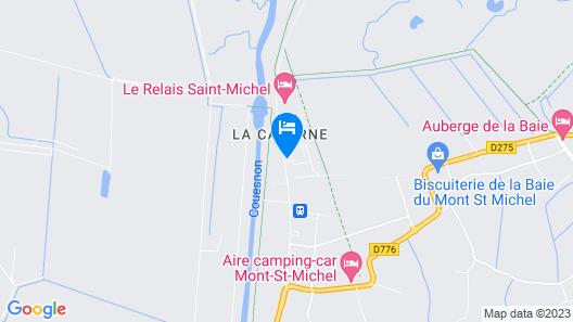 Mercure Mont Saint Michel Map