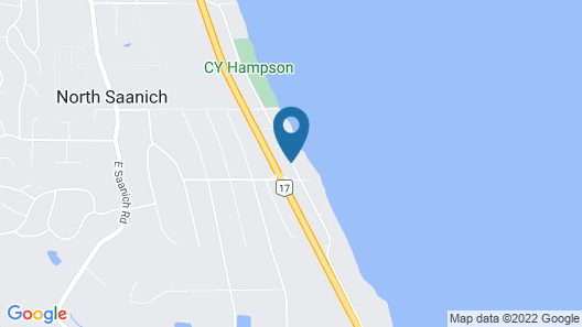 By the Sea BnB Sidney BC Map