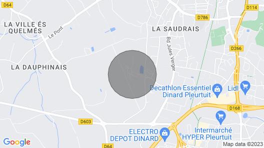 Rent Mobile Home Dinard Map