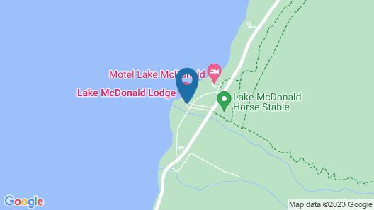 Lake McDonald Lodge - Inside the Park Map