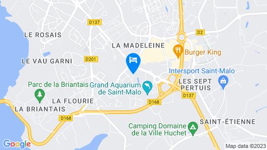 Manoir de la Baronnie Map