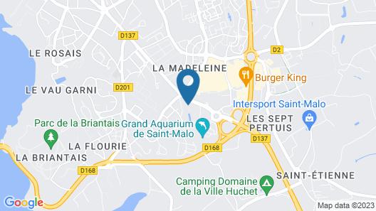 Roulottes de la Baronnie Map