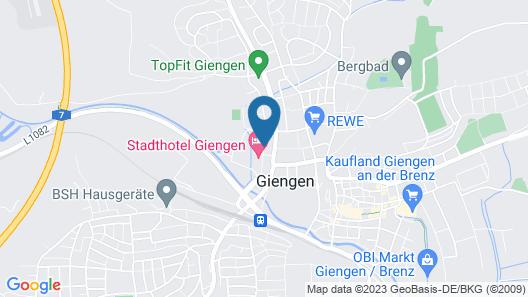 ambient Hotel Salzburger Hof Map
