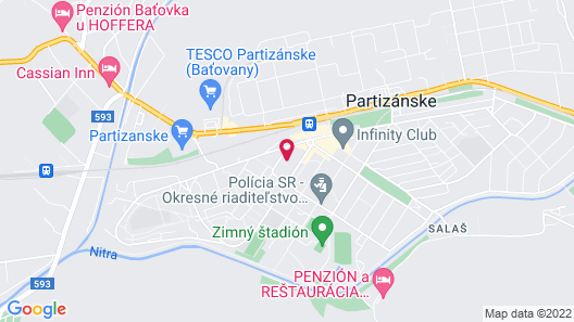 AZUL Hotel & Restaurant Map