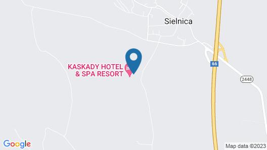 Hotel & Spa Resort Kaskady Map