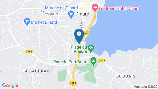 Résidence Beaurivage Map