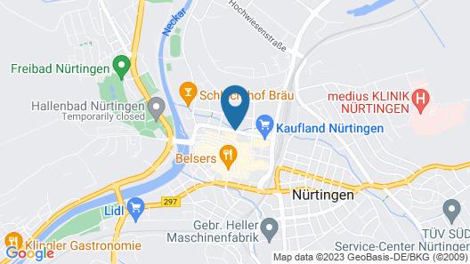 Best Western Plus Hotel Am Schlossberg Map