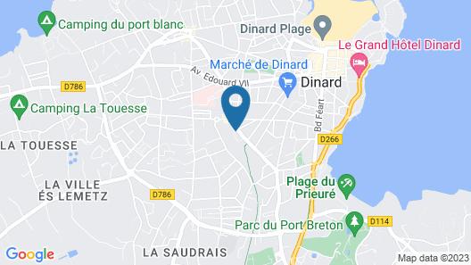 Citotel Les Alizes Map