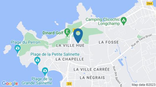 Résidence Lagrange Vacances Les Roches Douvres Map