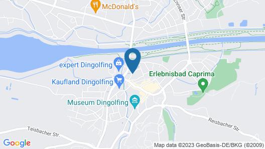 Aparthotel Othello Map
