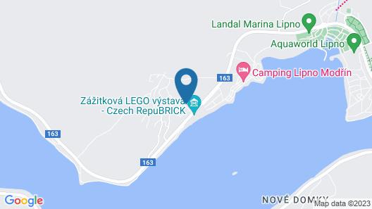 Residence Lipno Map