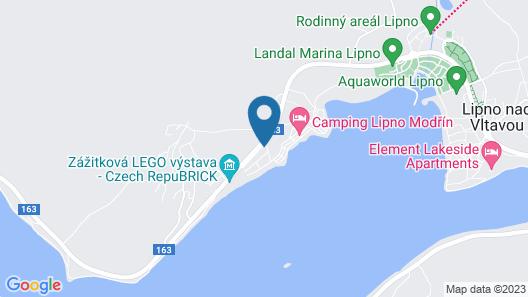 Amenity Hotel & Resort Lipno Map