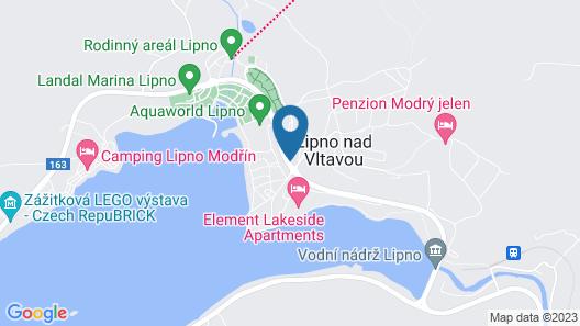 Apartments JBX Lipno Map