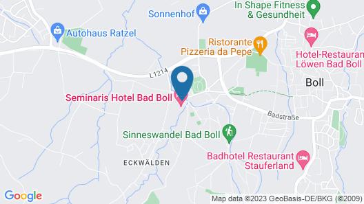 Seminaris Hotel Bad Boll Map